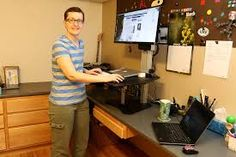 Image result for standing desk macbook pro