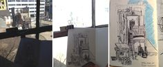 MJ ILLUSTRATES: Urban Sketching at 401 Richmond