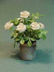 floral arrangements - Dollhouse Miniatures by Barb Plevan
