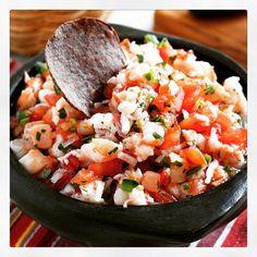 ... Skinny Shrimp Salsa from Skinnytaste.com: Servings: 8 • Serving Size