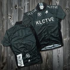 """Image of KLCTVE Moiré """"Grayscale"""" Cycling Jersey PRE-ORDER"""