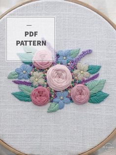 Hand Embroidery Videos, Hand Embroidery Stitches, Embroidery Hoop Art, Embroidery Techniques, Cross Stitch Embroidery, Embroidery Patterns, Contemporary Embroidery, Modern Embroidery, Kids Patterns