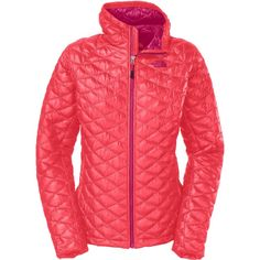 Manteau Thermoball rose de la marque THE NORTH FACE