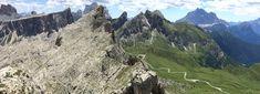 View from Rifugio Nuvolau, Italian Dolomites