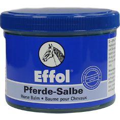 EFFOL Pferdesalbe veterinär:   Packungsinhalt: 500 ml ointment PZN: 02433832 Hersteller: Schweizer-Effax GmbH Preis: 7,35 EUR inkl. 19 %…