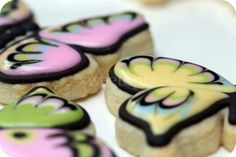 Cookie Decorating Tutorial – General Tips & Butterfly Cookies   Sweetopia