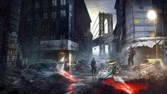 HD wallpaper: screenshot, The Division, game, apocalypse, Tom Clancy's Tom Clancy The Division, Manhattan, Star Citizen, Anime Rock, Apocalypse, Division Games, Toms, Cinematic Trailer, Zombie Art