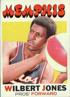 In there were six Joneses in the ABA. Wilbert was one of 'em. Basketball Stuff, Sports Basketball, Nba, Basketball Leagues, Basketball Association, Trading Card Database, African American History, 70s Fashion, Black People