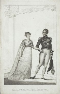 The Princess Charlotte of Wales and Prince Leopold of Coburg,