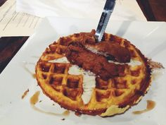 Hair of the Dog Eatery - Fried Chicken and Waffles