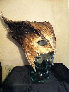 HawkGirl Mask Cosplay- interesting take on her helmet