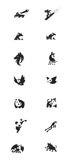 This is my 4'th negative space logo project. See more on my web. #negativespace #negative #space #logo #design #creative #graphic #designer #graphicdesigner #brand #identity #illustration #animals #owl #pig #hog #boar #snowboarder #tank #hippo #frog #bird #okapi #wolf #face #dragon #banana
