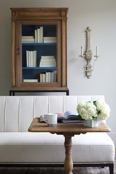 Upholstered dining bench - simply divine.