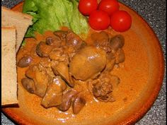 Chicken Livers, Quick Recipes, Fries, Spicy, Easy Meals, Make It Yourself, Meat, Vegetables, Cooking
