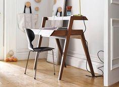 Primary Desk by Nathan Yong — Desk/Work -- Better Living Through Design 책상을 의자 모양으로/의자를 책상모양으로