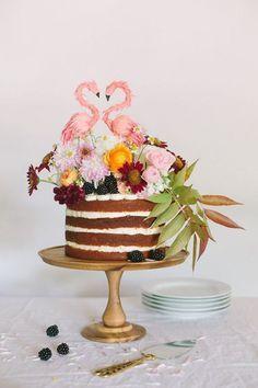 Una tarta perfecta para una boda nada convencional