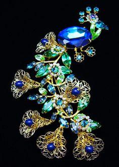 Broach Jewelry | Peacock Brooch