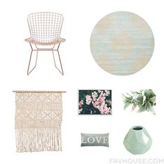 Design Products Featuring Zuo Dining Chair Safavieh Nordal Wall Art And Home Wall Decor From January 2017 #home #decor