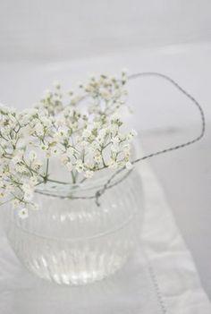 White Flowers | Julias Vita Drömmar