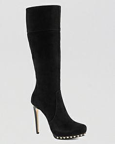 MICHAEL Michael Kors Tall Platform Boots - Ailee High Heel