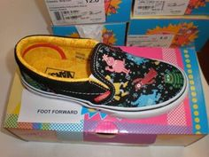 Cheap on sale YO GABBA GABBA VANS on Trade Me New Zealand $39.00 Buy now, other sizes available