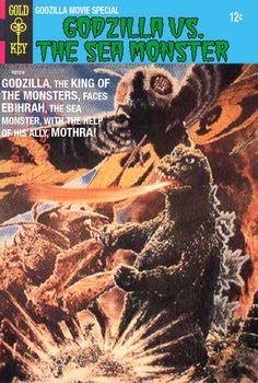 Godzilla Comics They Never Made - Godzilla vs. The Sea Monster