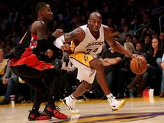 7797d941c72 Kobe Bryant Notches Triple-Double In Lakers Win