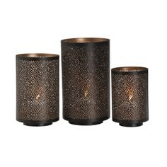 Shop for Studio Nova Round Metal Mesh Luminaries (Set of 3). Free Shipping on orders over $45 at Overstock.com - Your Online Home Decor Outlet Store! Get 5% in rewards with Club O!