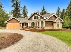 Plan 23252JD: Dramatic Craftsman House Plan