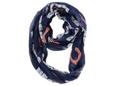 Chicago Bears Little Earth Sheer Infinity Scarf