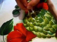veja como pintar uma pinha. (fruta do conde)