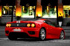 2004 Challenge Stradale in Rosso Corsa Red. Ferrari 360, Future Car, Drag Racing, Sport Cars, Bugatti, Exotic Cars, Corvette, Cool Cars, Benz