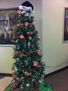 Broncos Christmas Tree Decorations - DTC Branch