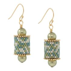 Sea Mist Earrings | Fusion Beads Inspiration Gallery