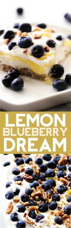 Lemon Blueberry Drea