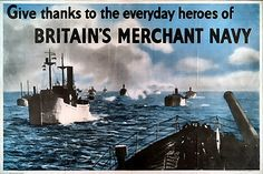 British Merchant Navy WWII