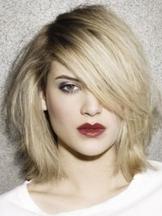 Shoulder length sexytime hair. Want! Next style...it'll be a while