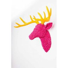 Wall mounted Fake Pink Stags Head Ornamental stags decoration, the best quirky gift you can buy for the lady in your life, make a statement and make her smile with the stags head Unique Gifts For Men, Quirky Gifts, Pink Home Decor, Retro Home Decor, Vintage Robots, Stag Head, Pink Vans, Quirky Wedding, House Ornaments