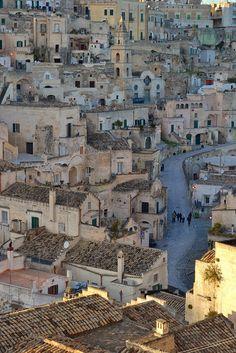 La strada di Matera, Italy