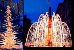 Festival Lighting by Center Stage Productions, making spectacular displays for the holidays.