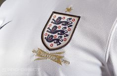MOST WANTED Nike England 2013 Home Replica SS Shirt - Wht/Obsid