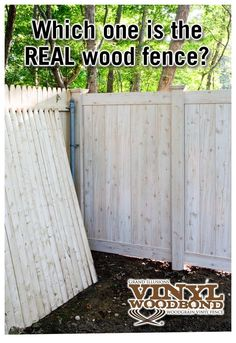 Where can I get vinyl fencing panels that look like real wood?