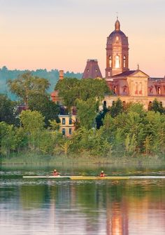 early morning rowing... Fredericton, New Brunswick, Canada