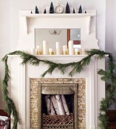 This year, spend time filling your living room with personal touches that transcend the trends. Fill mantel and tabletop spaces with your favorite scented candles, add looped greenery garlands to the fireplace, and string another along your gallery collection of family photographs. Everyone will love your trendy Christmas decorating.