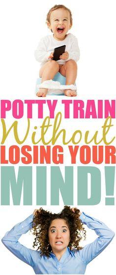 Sometimes potty training is easier said than done. Some kids get it right away, some don't. Here are my tips to potty train without losing your mind.
