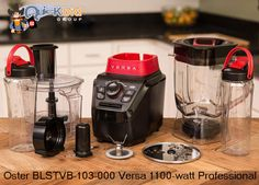 The #Oster #Versa Performance blender relinquishes nothing with regards to taking care of business right. The rough machine offers a compelling 1100-watt engine for the oomph required to pulverize ice and mix to flawlessness.