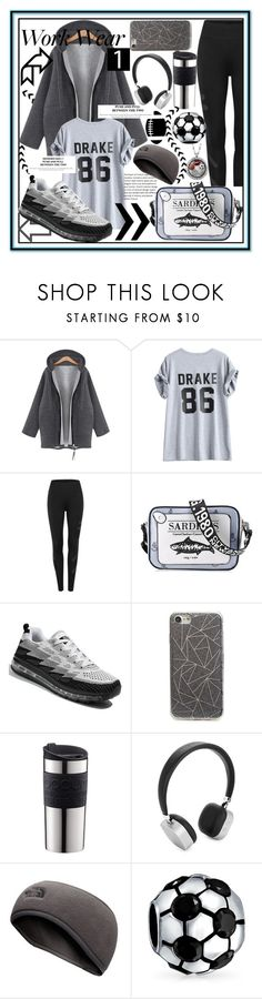 """""""Sport vibes and try on,is it good enough to move on?⚽️"""" by jelena-bozovic-1 on Polyvore featuring BP., Bodum, Merkury, The North Face and Bling Jewelry"""