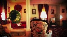 Antiques: Mr Disney and his wife, Lillian, decorated the home with help from Oscar-winning production designer Emile Kuri