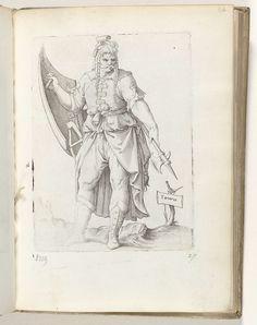 Tartarus, Enea Vico, in or before 1558