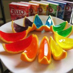 Jello Shots!  I'm making these the next party =0)
